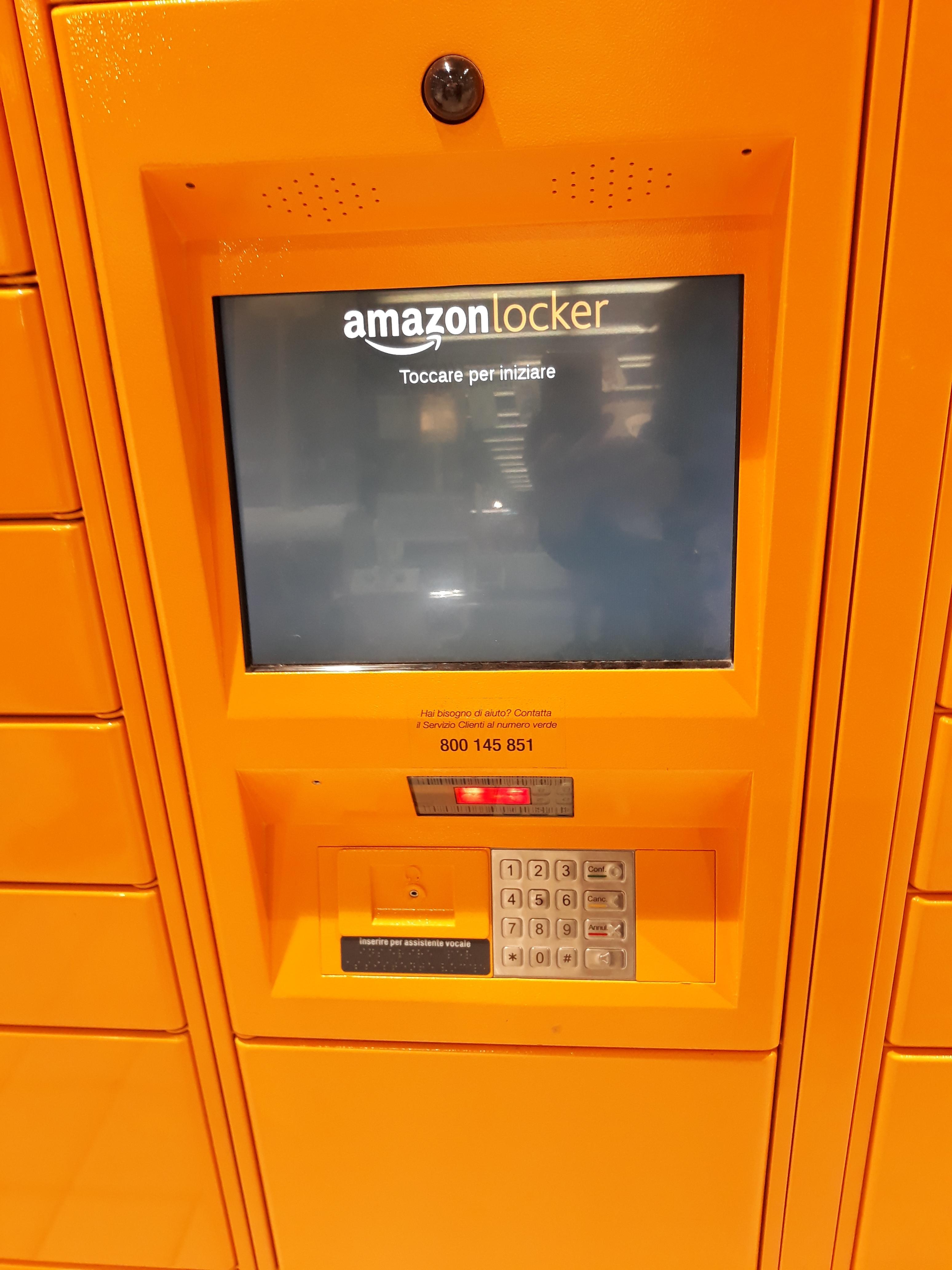 GELMINI per l'aggiornamento dei Locker Amazon